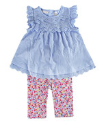 First Impressions Baby Floral Top & Pants Girls' 2-Piece Set, 72263BM410 - $22.66