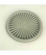 "Tupperware Servalier seal lid 812-18 replacement 5"" round Grey - $3.93"