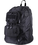 Black MOLLE Tactical Foldable on the go Backpack - $28.99