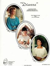 Misses Janet Pace 2 Smocked Designs 3 Sleeve Lengths Blouse Sew Pattern S-L - $11.99