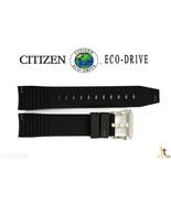 Citizen Eco-Drive BN5030-06E Original Black Rubber Watch Band Strap BN4020-05E - $88.30