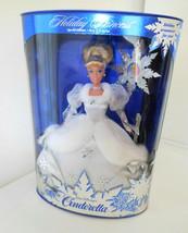 1996 Holiday Princess Disney Cinderella Barbie First in Series NRFB Box - $18.99