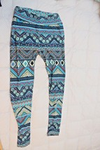 Lularoe One Size Yoga Pants Leggings Stretch Spandex N Poly Casual Wear - $5.97