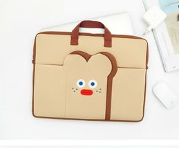 "Brunch Brother Laptop Case Bag Sleeve Pouch Briefcase for 15"" to 17"" (Toast) image 2"