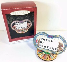 HALLMARK 1995 WHEEL OF FORTUNE Keepsake Ornament Anniversary Edition MIB - $14.24