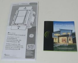 GE ZW4002 In Wall EZ Smart Fan Control Indoor Outdoor Wireless Z Wave PLUS image 8