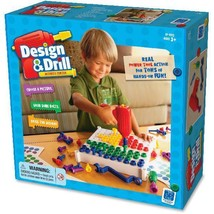 Kids Educational Tool Set Drill Pretend Activity Center Brightworks Play... - $53.25