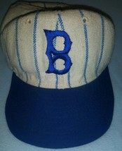 Vintage Brooklyn Dodgers Pinstripe Made In The Usa Hat ⚾  Mlb - $69.29