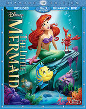 Disney's The Little Mermaid Diamond Edition (Bluray + DVD) Used - $14.95