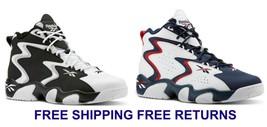 New Reebok Mens Retro Basketball Fashion Sneakers Comfort Authentic MOBI... - $103.42