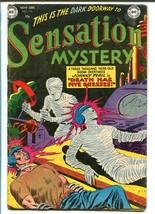 SENSATION MYSTERY #112 1952-DC COMICS-PRE-CODE HORROR-TATTOOS-GHOSTS-vg - $180.03
