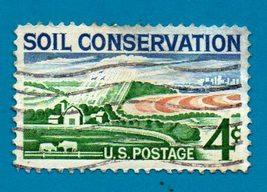 Scott  #1133  Used US Postage Stamp 1958 Soil Conservation - $1.99