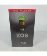 Zero Oxygen Solutions ZOS Halo 2 Months Fresh Wine Preserver. New and Se... - $36.62