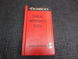 Old Vtg 1988 Mr. BOSTON OFFICIAL BARTENDERS GUIDE Book 63rd Edition 1st ... - $19.79