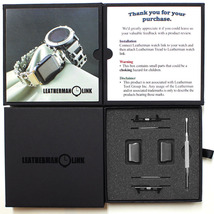 Link- watch adapter for LEATHERMAN TREAD / TREAD LT- Black DLC - $58.99+