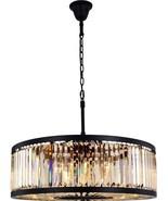 CHELSEA Pendant Traditional Antique 10-Light Matte Black - $1,969.00