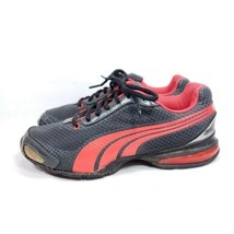 Puma Eco Ortholite Running Shoes Women's Sz 7.5/38 Black Mesh (tu28) - $37.62