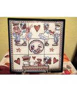Framed Raggedy Ann & Andy Home Decor Wall Hangi... - $6.00