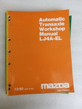 1993 Mazda LJ4A-EL Automatic Transaxle Service Repair Manual OEM Factory... - $5.83