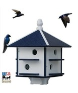 """8 Hole 24"""" PURPLE MARTIN BIRD HOUSE - Weatherproof Recycled Poly in 4 Co... - $229.97"""