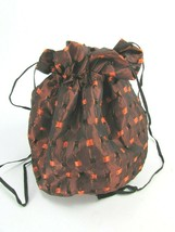 Vintage Jewelry Pouch Cinch Bag Drawstring 31248 - $29.69