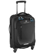 """NEW EAGLE CREEK EXPANSE 22"""" AWD CARRY-ON 4 WHEEL SPINNER LUGGAGE BLACK - $197.01"""