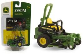 NEW! 1:32 ERTL *JOHN DEERE* Model Z930M Zero-Turn Lawn Mower *NEW!* - $27.99