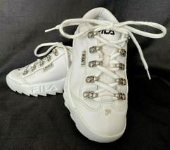 FILA Women's White Athletic Running Shoes Sneakers 52X677LX-190 - US Size 6 - $19.99