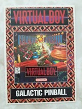 Virtual Boy Galactic Pinball Vidpro Card Prototype Promo Store Display S... - $296.99