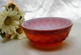 1087 Anchor Hocking Fire King Red Diamond Kimberly Soup Bowl - $5.00