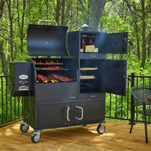 BBQ Barbecue Grill and Smoker Wood Pellet Fired... - $1,966.51
