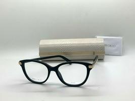 Jimmy Choo Eyeglasses Jc 196 807 Black 51-17-140MM Italy Case& Cloth - $77.09