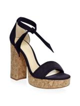 Alexandre Birman Celine Suede Platform Sandals 40.5 - £238.46 GBP