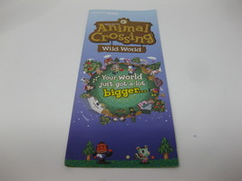 Animal Crossing Wild World - Nintendo DS Brochure Pamphlet Flyer - $19.99