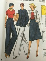 Vogue Sewing Pattern 9435 Jacket, Skirt, Pants, Shirt Vintage Uncut 1970... - $18.00
