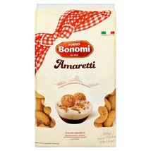 Forno Bonomi Amaretti Macaroons 500g ( Pantry/ Chocolate/ Biscuits/ Cate... - $16.58