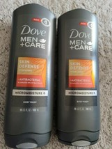 2 bottles DOVE men + care body wash SKIN DEFENSE Micro  Moisture - $12.82