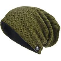 VECRY Mens Slouchy Beanie Knit Skull Cap Long Baggy Hip-hop Winter Summe... - $14.12