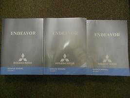 2005 Mitsubishi Endeavor Servicio Tienda Manual Reparación Fábrica Oem 3 Volumen - $298.23