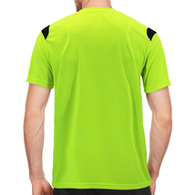 Men's Gym Workout Sport Two Tone Running Performance Quick-Dry T-shirt image 12