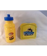 Minions Despicable Me 2 Pc Set NEW Sandwich Container with Lid Water Bottle - $9.49