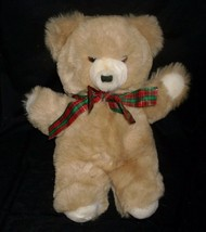 """15 """"vintage 1985 applause phineas brown teddy bear animal toy bow - $32.36"""