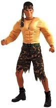 Forum Novelties Men's Jungle Commando Costume, Camouflage, One Size - $48.64