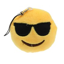 2016 New  Emoji Smiley Emoticon Sunglass Toy Gift Pendant Bag Accessory ... - $8.40
