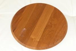 """Mid Century Dansk International Designs LTD Round Wooden Tray - 11 1/4"""" - $39.00"""