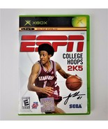 ESPN College Hoops 2K5 Video Game Basketball Disc w/ Instruction Book - $7.56
