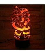 Phantom Lamps Santa Claus 3D LED Illusion Lamp - $29.35