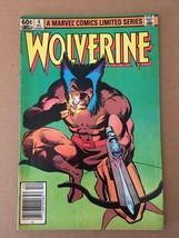 Wolverine #4 1982 Marvel Comic Book FN Condition Frank Miller - $23.39