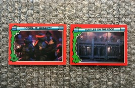 1991 Topps Teenage Mutant Ninja Turtles TMNT II Movie Cards Lot: #88 & #91 - $3.92