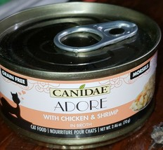 CANIDAE Adore Grain-Free Chicken & Shrimp in Broth Can Cat Food, 2.46 oz... - $31.99